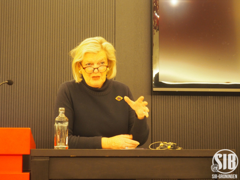 Ankie Broekers-Knol, President of the Senate